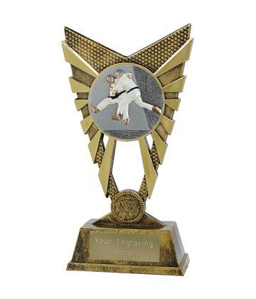 "Valiant Judo Trophy Gold 23cm (9"")"
