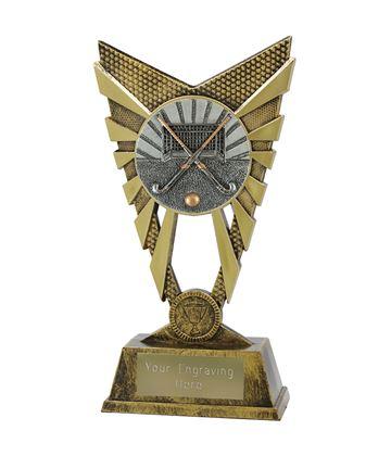 "Valiant Hockey Trophy Gold 23cm (9"")"