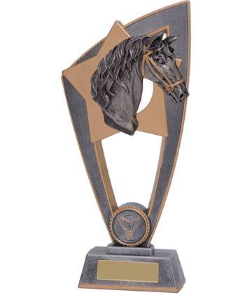 """Equestrian Horse Star Blast Trophy 18cm (7"""")"""
