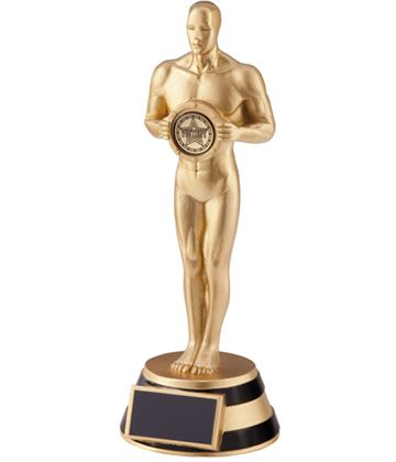 "The Ovation Achievement Statue Trophy 21cm (8.25"")"