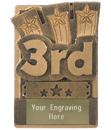 "3rd Place Fridge Magnet Award 8cm (3.25"")"