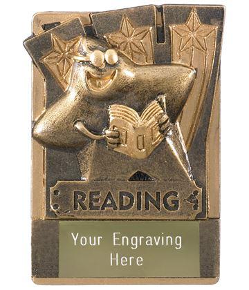 """Reading Fridge Magnet Award 8cm (3.25"""")"""