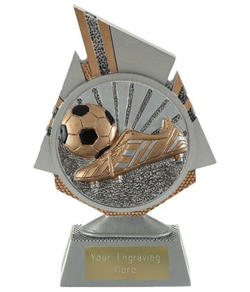 """Shard Boot and Ball Trophy 15cm (6"""")"""