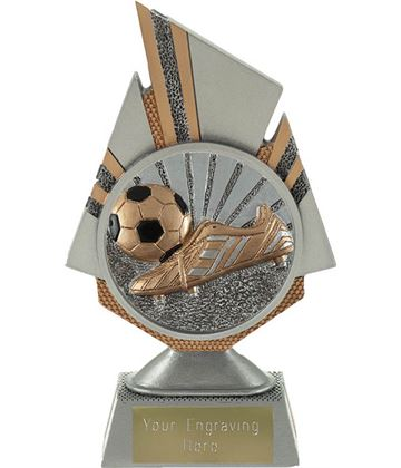 "Shard Boot and Ball Trophy 17.5cm (6.75"")"