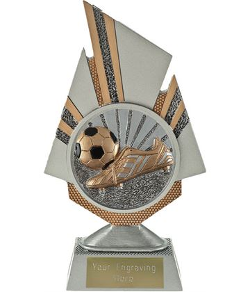 "Shard Boot and Ball Trophy 19.5cm (7.75"")"