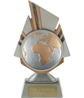 "Shard Globe Trophy 17.5cm (6.75"")"