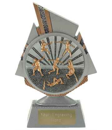 "Shard Track and Field Trophy 15cm (6"")"