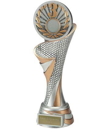 """Reach 3rd Place Trophy 24.5cm (9.5"""")"""