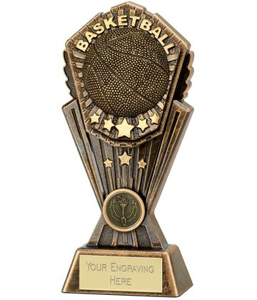 """Cosmos Basketball Trophy 20cm (8"""")"""