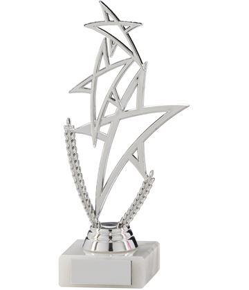 """Silver Rising Star Multi Award Trophy 18cm (7"""")"""