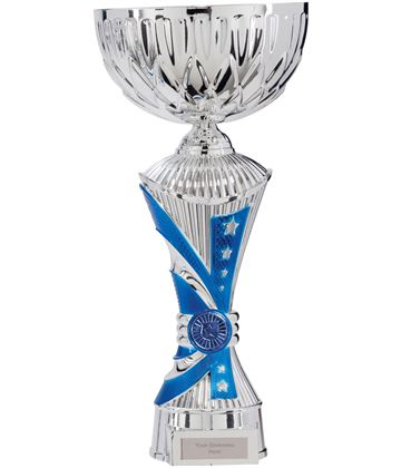 "Astro All Stars Heavyweight Cup Silver & Blue 34cm (13.25"")"