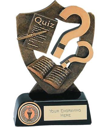 """Quiz Competition Trophy 16.5cm (6.5"""")"""