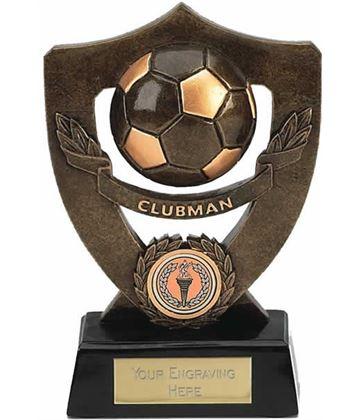 "Clubman Football Shield Award 18cm (7"")"