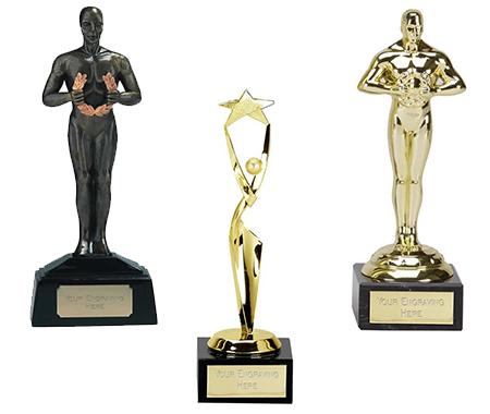 Achievement Statue Award Trophies