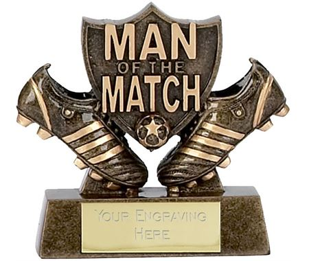 Man of the Match Trophies