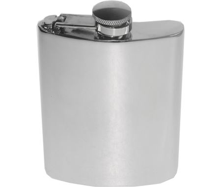 Personalised Captive Top Hip Flasks