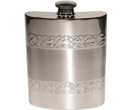 Personalised Celtic Hip Flasks