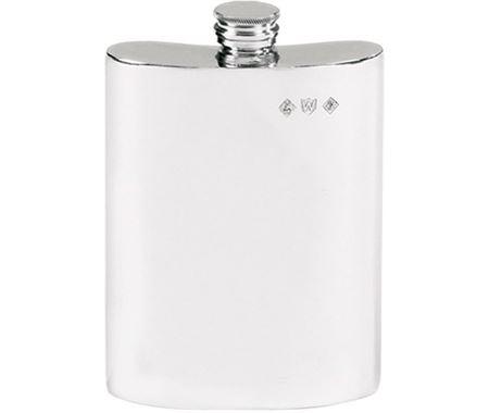 Personalised Plain Hip Flasks