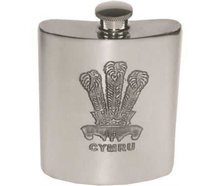 Personalised Welsh Hip Flasks