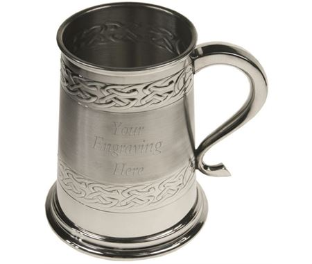 Personalised Pewter Tankards